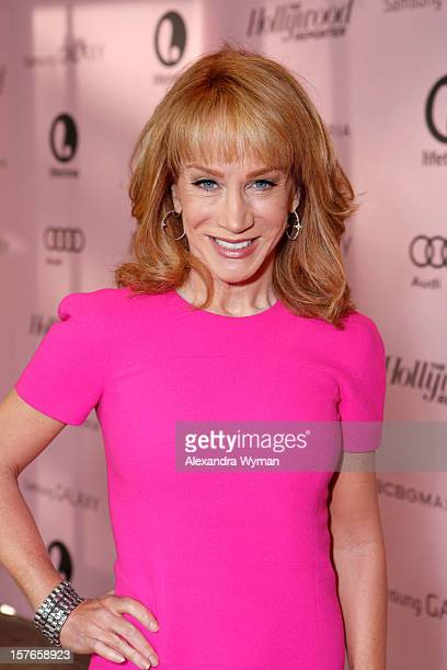 Comedian Kathy Griffin attends The Hollywood Reporter's 'Power 100 Women In Entertainment' Breakfast at the Beverly Hills Hotel on December 5 2012 in...
