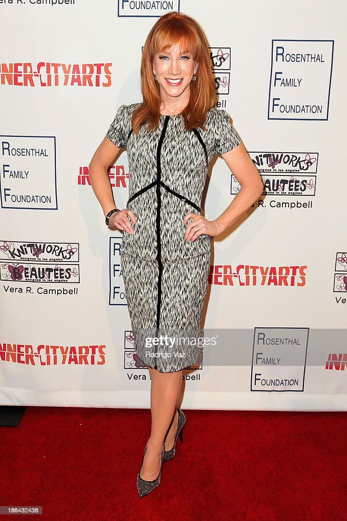 Comedian Kathy Griffin attends the Inner-City Arts Imagine Gala at The Beverly Hilton Hotel on October 30, 2013 in Beverly Hills, California.