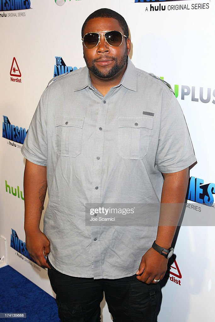 Comedian Keenan Thompson attends 'The Awesomes' VIP After-Party sponsored by Hulu and Xbox at Andaz on July 20, 2013 in San Diego, California.