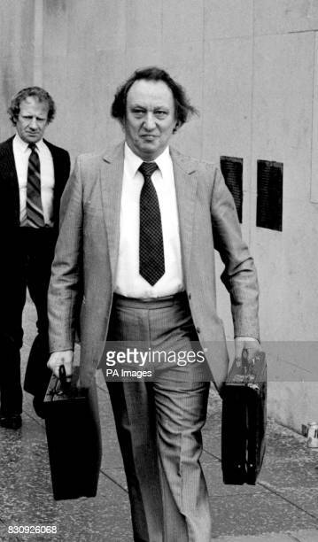 Comedian Ken Dodd in Liverpool before continuing giving evidence on the second day of the defence case at his trial where he is facing eight charges...