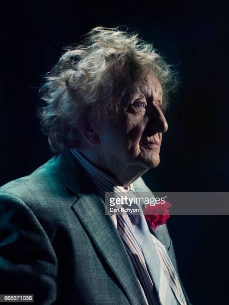 Comedian Ken Dodd is photographed on June 25 2015 in Liverpool England