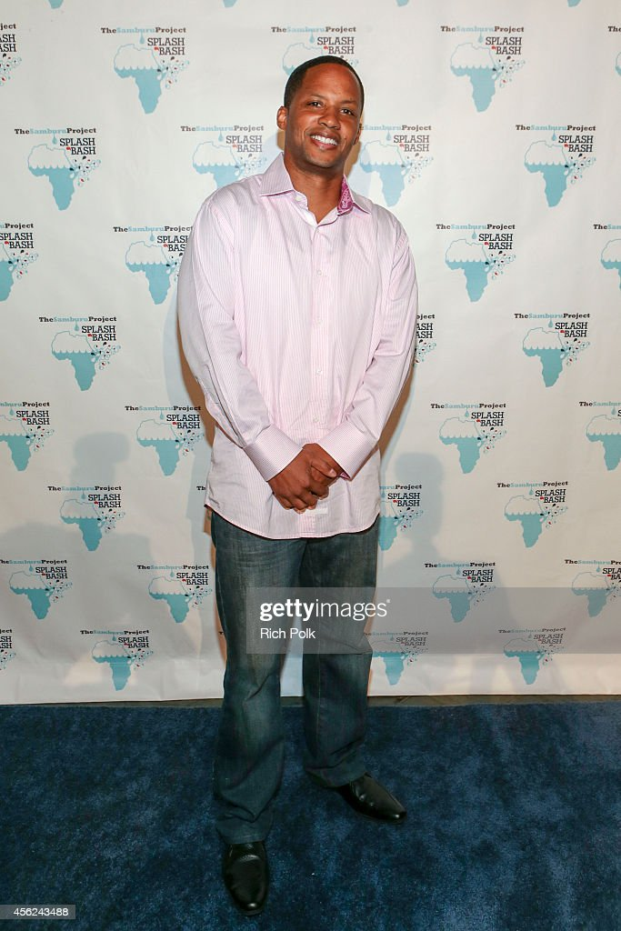Comedian Kente Scott arrives at the Samburu Splash Bash Event on September 27 2014 in Santa Monica California