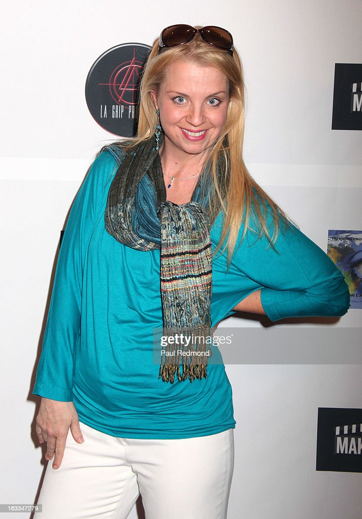Comedian Keri Pomarolli arrives at Make A Film Foundation's 'Kidz 4 Kidz' Comedy 4 A Cau$e Benefit Show at Writers Guild Theater on March 7, 2013 in Beverly Hills, California.