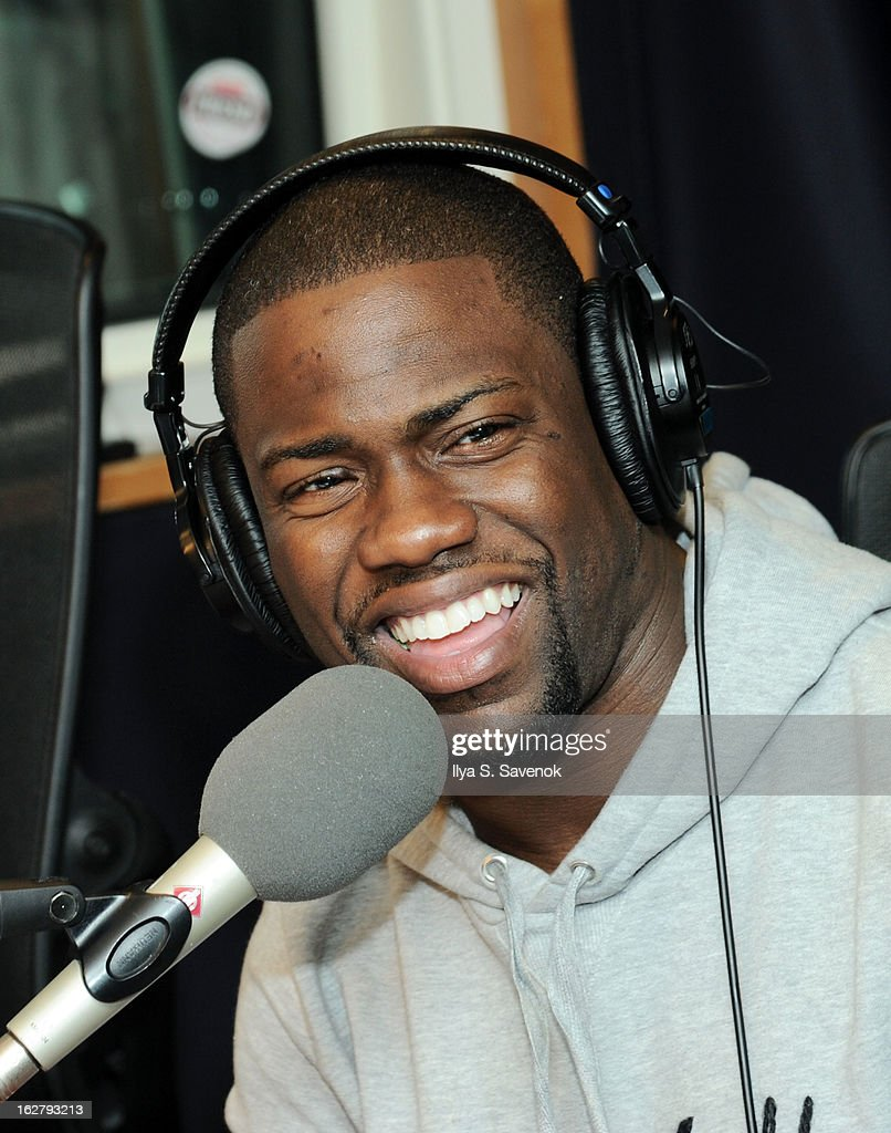Comedian Kevin Hart visits 'The Opie & Anthony Show' at the SiriusXM Studios on February 27, 2013 in New York City.