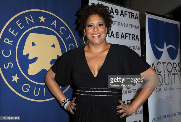 Comedian Kim Coles attends SAG Actors' Equity AFTRA's 2011 TriUnion Diversity Awards at Nate Holden Theatre Center on November 7 2011 in Los Angeles...