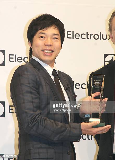 Comedian Koji Imada attends the Electrolux award ceremony on June 24 2015 in Tokyo Japan