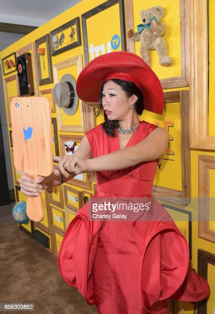 Comedian Kristina Wong at truTV's 'Upscale with Prentice Penny' Premiere at The London Hotel on March 21 2017 in West Hollywood California 26858_001