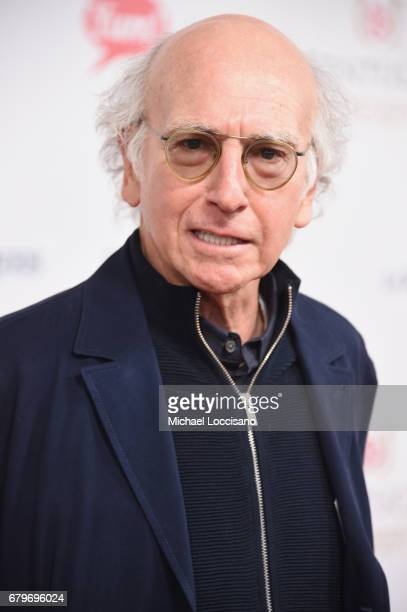 Comedian Larry David attends the 143rd Kentucky Derby at Churchill Downs on May 6 2017 in Louisville Kentucky