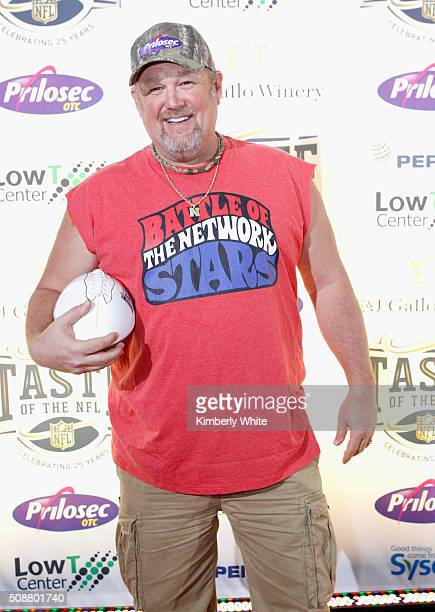 Comedian Larry the Cable Guy attends Taste of the NFL 25th anniversary Party With A Purpose at Cow Palace on February 6 2016 in San Francisco...