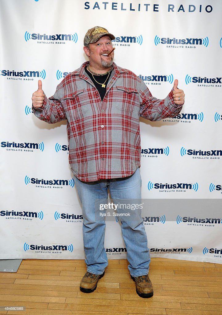 Comedian Larry the Cable Guy visits the SiriusXM Studios on December 9, 2013 in New York City.