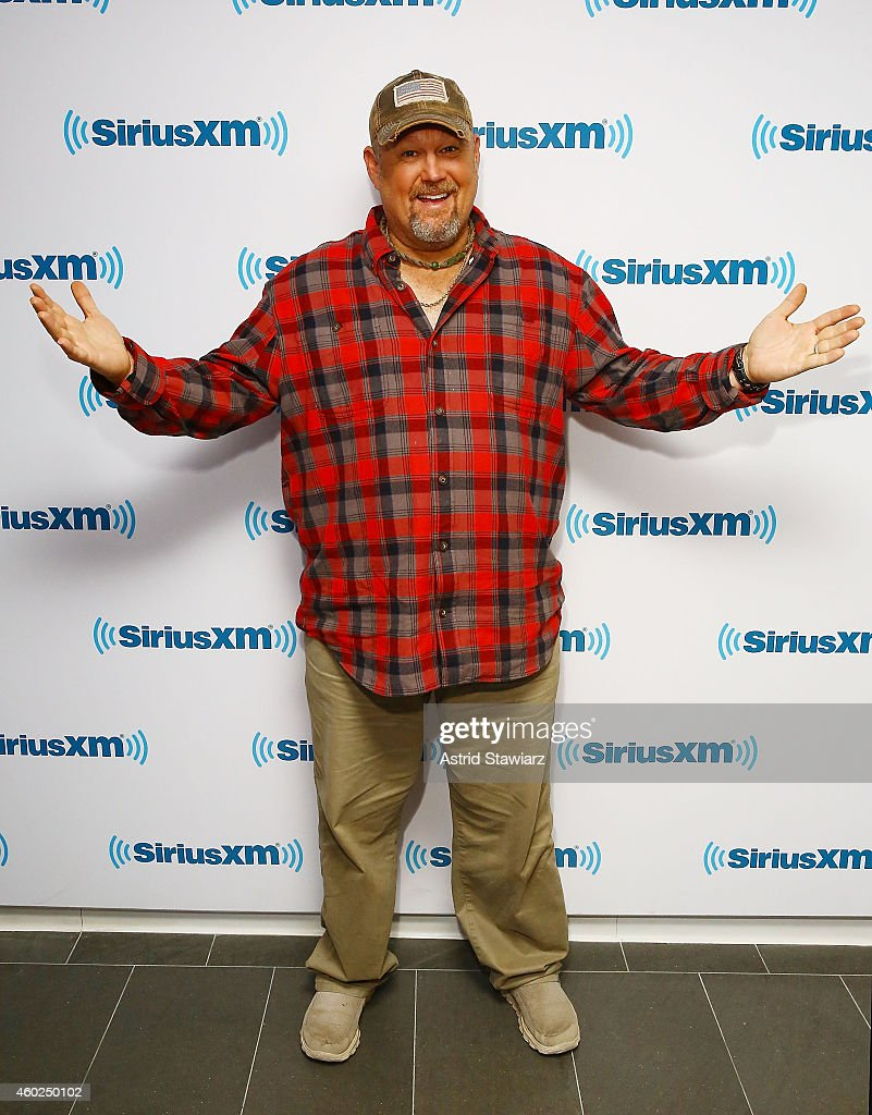 Comedian Larry the Cable Guy visits the SiriusXM Studios on December 10, 2014 in New York City.