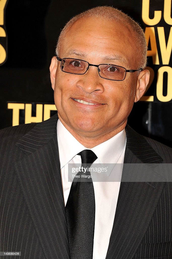 Comedian <a gi-track='captionPersonalityLinkClicked' href=/galleries/search?phrase=Larry+Wilmore&family=editorial&specificpeople=3210682 ng-click='$event.stopPropagation()'>Larry Wilmore</a> attends The Comedy Awards 2012 at Hammerstein Ballroom on April 28, 2012 in New York City.