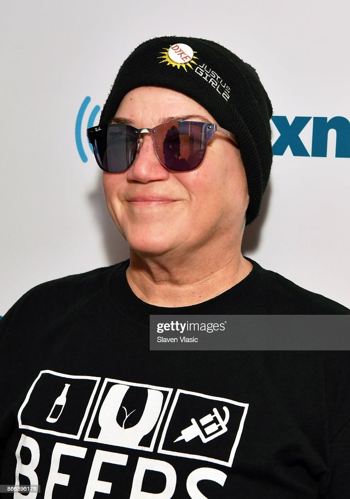 Comedian Lea DeLaria visits SiriusXM Studios on October 25, 2017 in New York City.