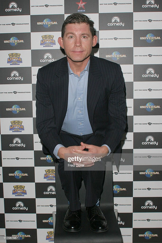 Lee Evans Photocall