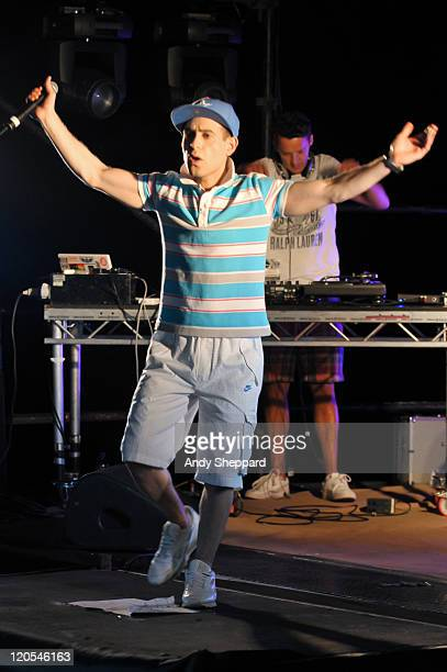Comedian Lee Nelson performs on stage during The Big Chill Festival 2011 at Eastnor Castle Deer Park on August 6 2011 in Ledbury United Kingdom