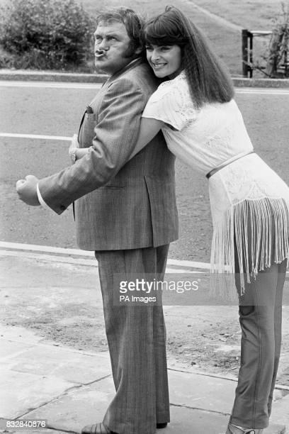 Comedian Les Dawson and Jan Michelle