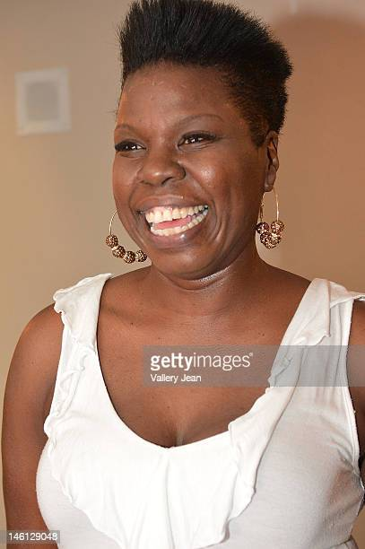 Comedian Leslie 'Big Les' Jones backstage during the 5th Annual Memorial Weekend Comedy Festival at James L Knight Center on May 27 2012 in Miami...