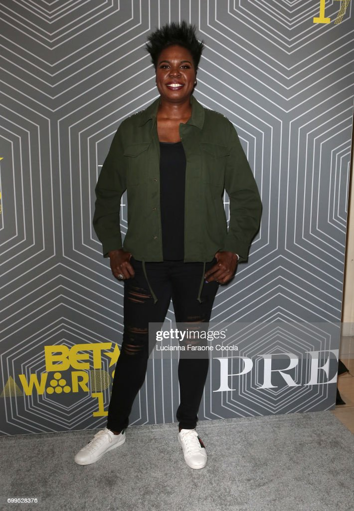 Comedian Leslie Jones attends BET Chairman and CEO Debra Lee's 'PRE', a BET Awards dinner for the 17th Annual BET Awards at The London West Hollywood on June 21, 2017 in West Hollywood, California.