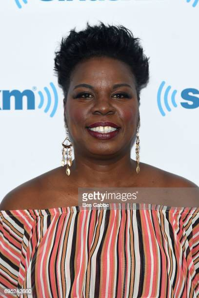 Comedian Leslie Jones visits at SiriusXM Studios on June 12 2017 in New York City