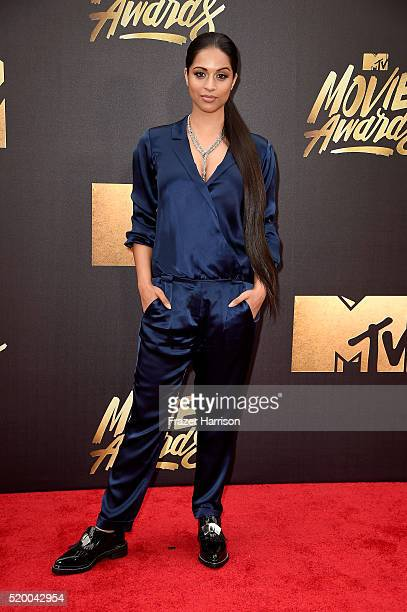 Comedian Lilly Singh attends the 2016 MTV Movie Awards at Warner Bros Studios on April 9 2016 in Burbank California MTV Movie Awards airs April 10...