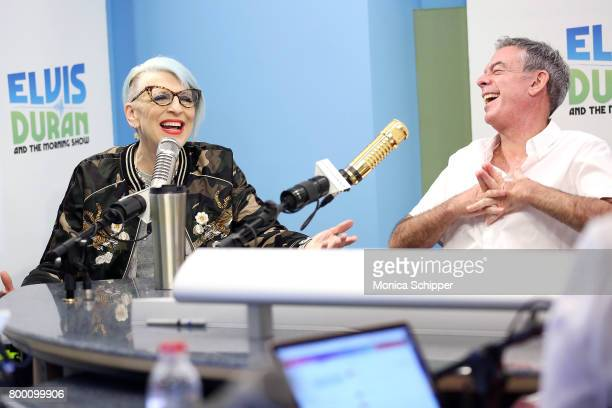 Comedian Lisa Lampanelli visits the 'Elvis Duran Z100 Morning Show' at Z100 Studio on June 22 2017 in New York City