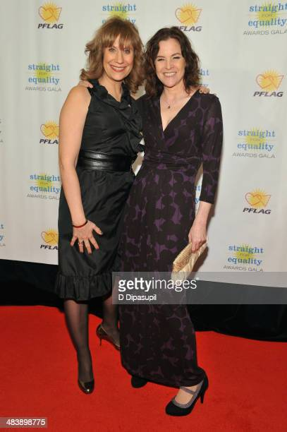 Comedian Lizz Winstead and actress Ally Sheedy attend the PFLAG National Straight For Equality Awards at Marriott Marquis Times Square on April 10...