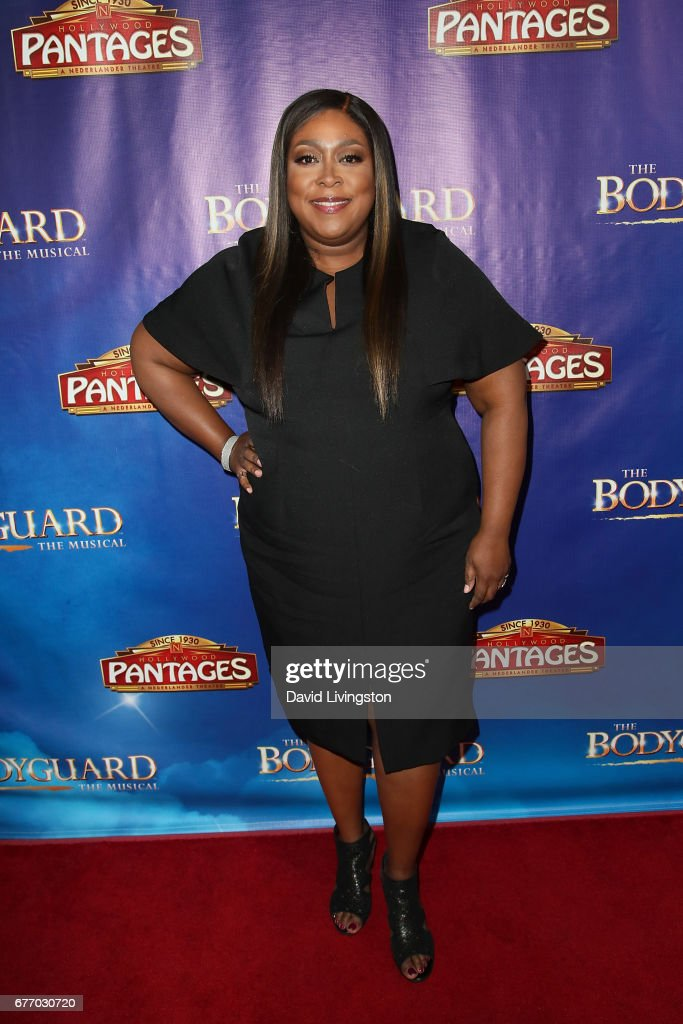 Comedian Loni Love arrives at the premiere of 'The Bodyguard' at the Pantages Theatre on May 2, 2017 in Hollywood, California.