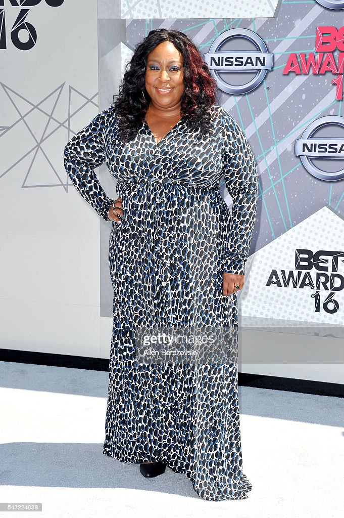 Comedian Loni Love attends the 2016 BET Awards at Microsoft Theater on June 26, 2016 in Los Angeles, California.