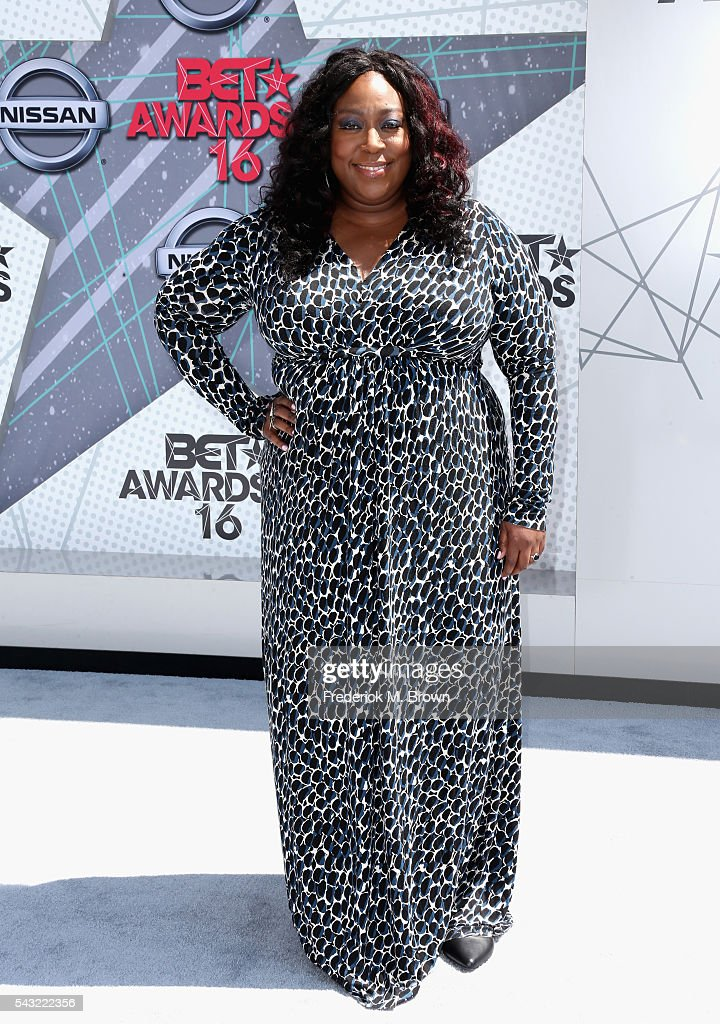 Comedian Loni Love attends the 2016 BET Awards at the Microsoft Theater on June 26, 2016 in Los Angeles, California.