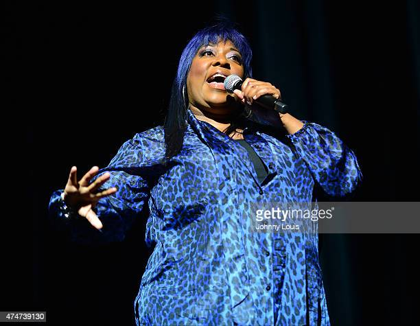 Comedian Loni Love performs during the 8th Annual Memorial Day Weekend Comedy Festival at James L Knight Center on May 24 2015 in Miami Florida