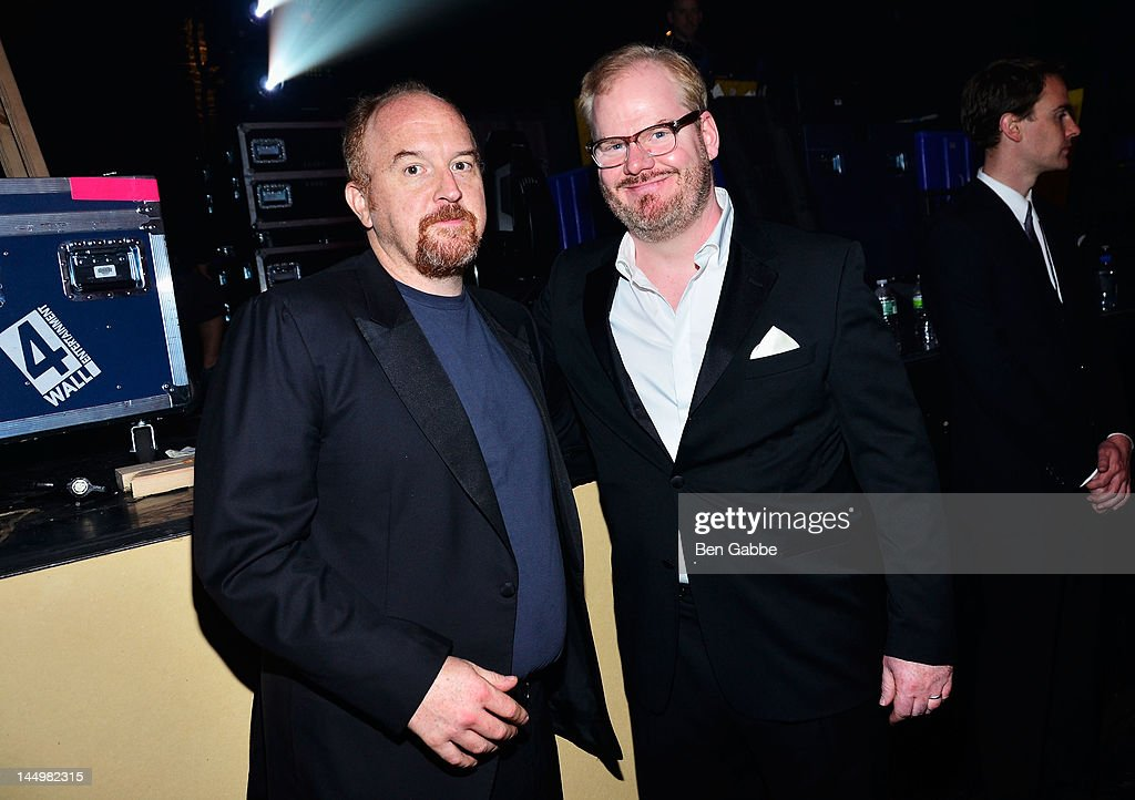 Comedian Louis CK, and Actor / Comedian Jim Gaffigan attend the 16th Annual Webby Awards on May 21, 2012 in New York City.
