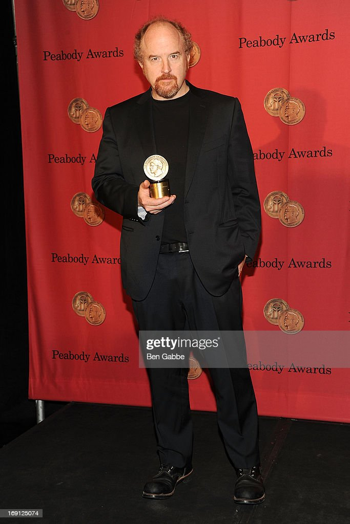 Comedian Louis C.K. attends 72nd Annual George Foster Peabody Awards at The Waldorf=Astoria on May 20, 2013 in New York City.