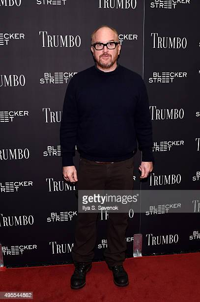 Comedian Louis CK attends the 'Trumbo' New York premiere at MoMA Titus Two on November 3 2015 in New York City
