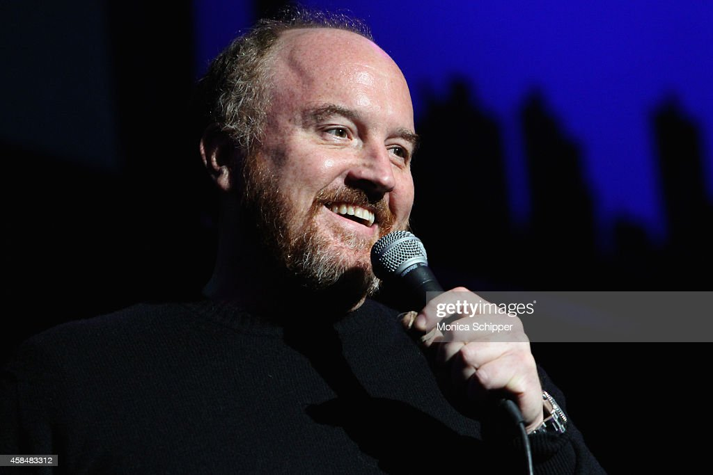 Comedian Louis C.K. performs onstage at The New York Comedy Festival and The Bob Woodruff Foundation present the 8th Annual Stand Up For Heroes Event at The Theater at Madison Square Garden on November 5, 2014 in New York City.