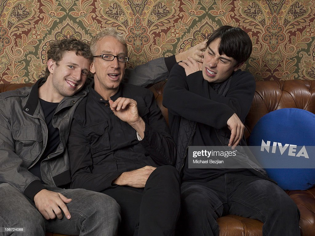Comedian Lucas Dick ,TV personality Andy Dick and Paris Dylan attend Interscope Records AMA After Party Hosted By NIVEA Lip Butters & Ciroc Ultra Premium Vodka Portraits Inside on November 18, 2012 in Los Angeles, California.
