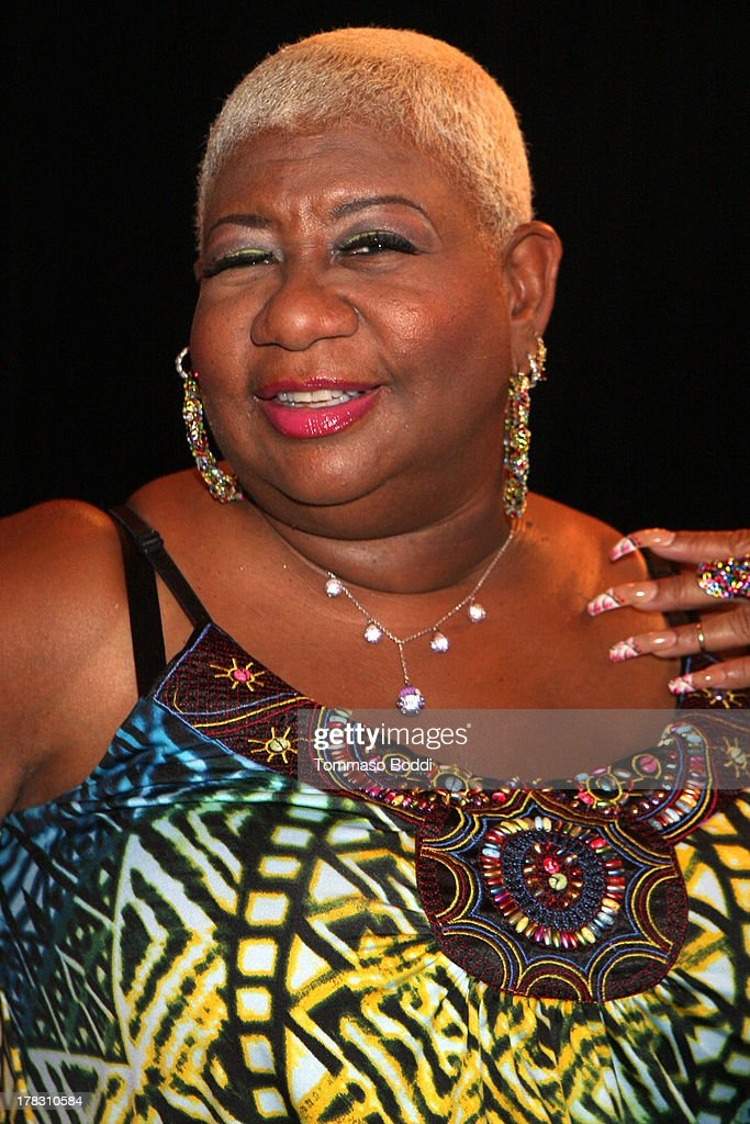 Comedian <a gi-track='captionPersonalityLinkClicked' href=/galleries/search?phrase=Luenell&family=editorial&specificpeople=2159262 ng-click='$event.stopPropagation()'>Luenell</a> attends the live casting auditions for new reality show 'Too Fat For Fame' held at The Complex Hollywood on August 28, 2013 in Los Angeles, California.