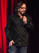 Comedian Marc Maron on stage during Bill Burr Marc Maron and Dana Gould at the HBO AEG Live's The Comedy Festival 2007 at Caesars Palace on November...