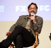 Comedian Marc Maron participates in Variety's A Night in the Writers' Room at Writer's Guild Theater on June 10 2014 in Los Angeles California