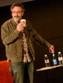 Comedian Marc Maron performs during the Bud Light Presents Wild West Comedy Festival Marc Maron WTF Podcast With Vince Vaughn at the Belcourt Theatre...