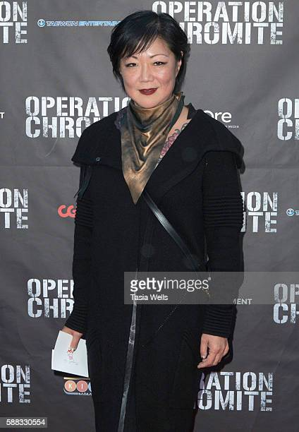 Comedian Margaret Cho attends the screening of CJ Entertainment's 'Operation Chromite' at CGV Cinemas on August 10 2016 in Los Angeles California