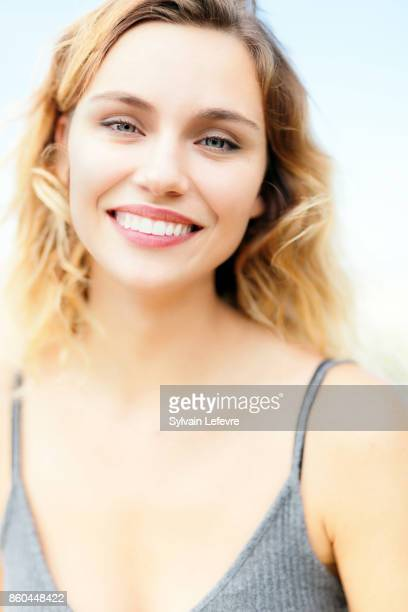 Comedian Margot Luciarte is photographed for Self Assignment on August 23 2017 in Angouleme France