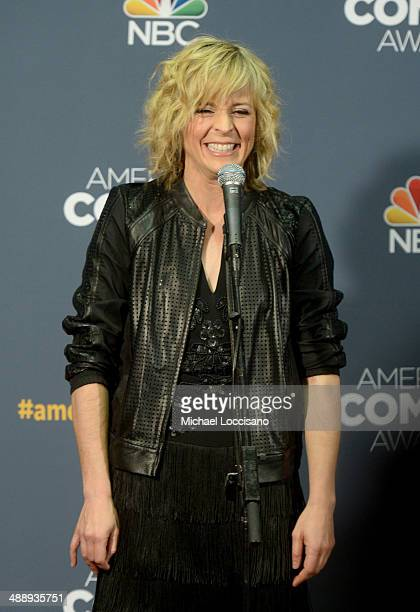Comedian Maria Bamford addresses the Press Room during the 2014 American Comedy Awards at Hammerstein Ballroom on April 26 2014 in New York City