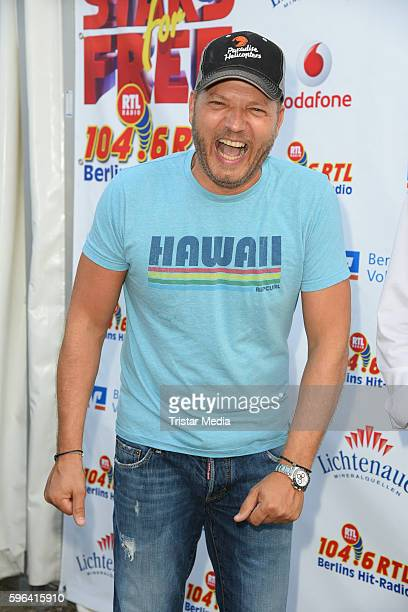Comedian Mario Barth attends the Stars For Free 2016 Open Air Festival on August 27 2016 in Berlin Germany