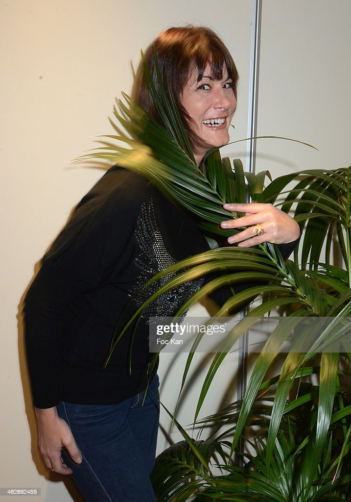 Comedian Marion Dumas attends the 'Petit Traite De L'Infidelite' (Little Treatise About Infidelity) Kenza Braiga Book Launch Cocktail hosted by Gleeden.com at the Movenpick Paris Neuilly on January 15, 2014 in Paris, France.