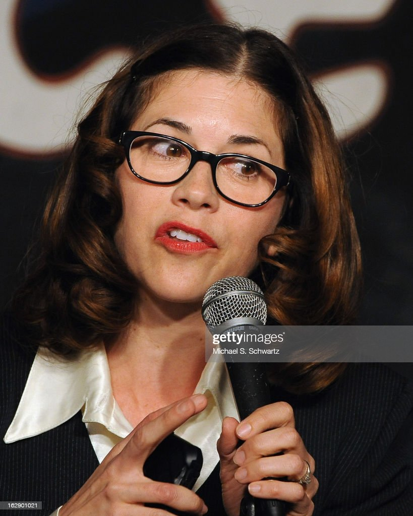 Comedian Mary Gallagher performs during her appearance at The Ice House Comedy Club on February 28, 2013 in Pasadena, California.