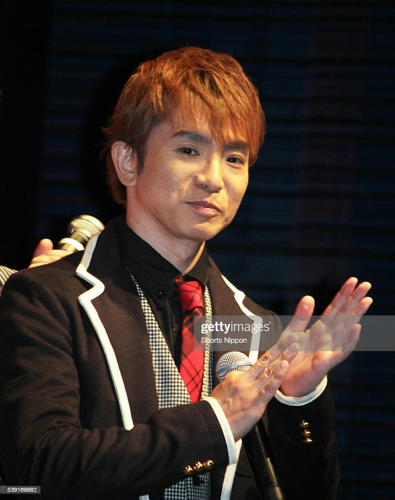 Comedian Masaru Hamaguchi of Yoiko attends the Kit Kat PR event on February 2, 2016 in Tokyo, Japan.