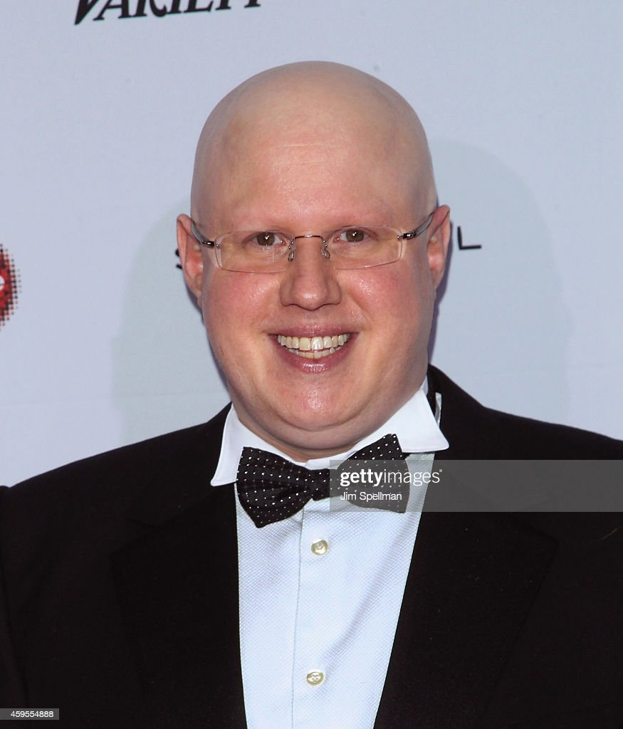 Comedian <a gi-track='captionPersonalityLinkClicked' href=/galleries/search?phrase=Matt+Lucas+-+Comedian&family=editorial&specificpeople=204202 ng-click='$event.stopPropagation()'>Matt Lucas</a> attends the 2014 International Academy Of Television Arts & Sciences Awards at the New York Hilton on November 24, 2014 in New York City.