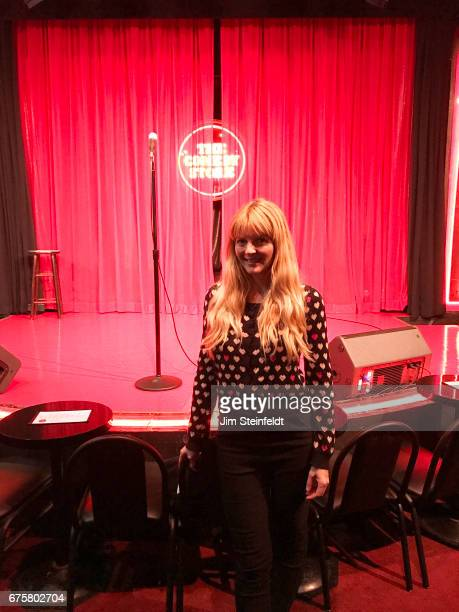 Comedian Melinda Hill poses for a portrait at the Comedy Store in Los Angeles California on April 19 2017