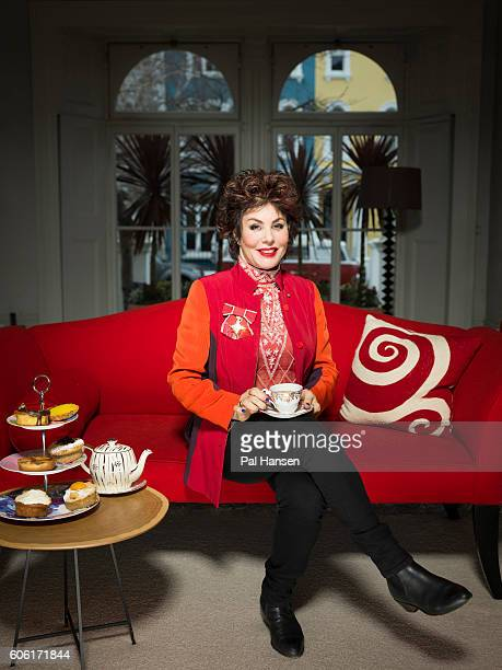 Comedian mental health campaigner lecturer and author Ruby Wax is photographed for the Sunday Times on February 15 2016 in London England