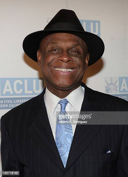 Comedian Michael Colyar attends The ACLU of Southern California's 2011 Bill of Rights Dinner at the Beverly Wilshire Four Seasons Hotel on December...